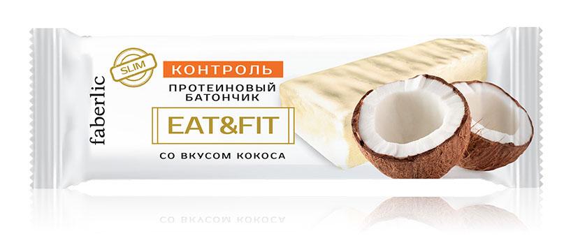 протеиновый батончик со вкусом кокоса