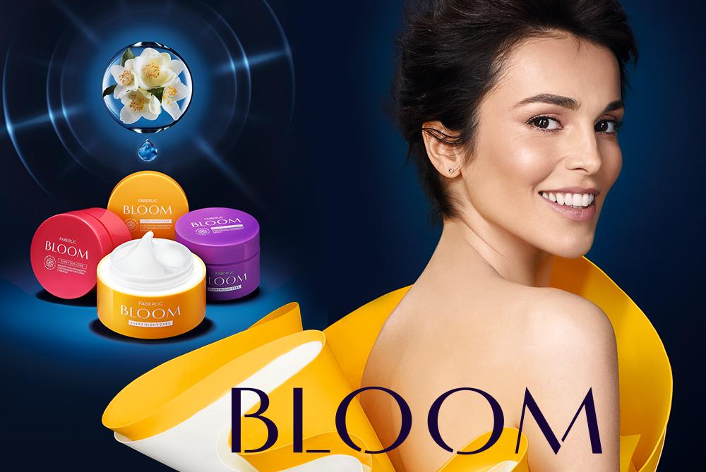«Bloom» – антивозрастной уход за кожей лица