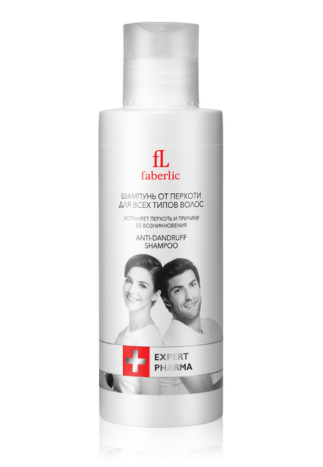 Шампунь от перхоти для всех типов волос Expert Pharma